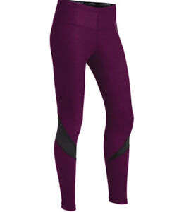 ColdPruf Zephyr Women's Baselayer Thermal Bottoms Plum Size X-Large