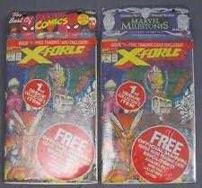 Best of Marvel & Milestones Packs XForce Ghost Rider Spiderman Quasar Wolverine