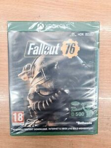 Fallout 76 game microsoft xbox one new and sealed english
