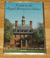 VINTAGE-A VISIT TO THE ROYAL GOVERNOR'S PALACE-18 COLOR SLIDES & STORY! 1983