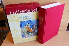 Die Bibel Lutherbibel mit Bildern aus der Kunst. Fest- und Hausbibel Schuber NEU