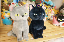 """Mary and the Witch's Flower Tib Gibb cat The Little Broomstick 12""""Plush toy 2pcs"""