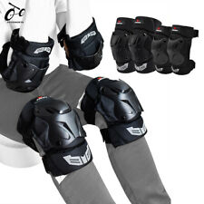 Skateboard Knee Elbow Pads Set Cycling Mtb Bike Off-Road Joint Protector Brace