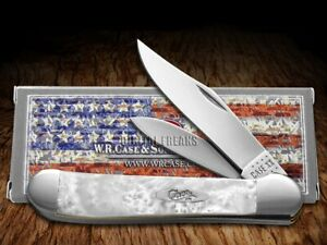 Case xx Copperhead Smooth Heavenly Pearl Corelon 20148HP Pocket Knife Stainless