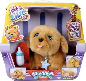 Little Live Pets Snuggles My Dream Puppy Playset Robot Dog