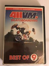 411 Vm Best Of #9 2002 Vintage Skateboarding Dvd Great collectible!