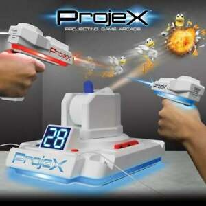 ProjeX Electronic Projecting Aim and Fire Shooting Arcade Game inc 2 Controllers