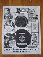 October 1981 RECORD RESEARCH Tex RitterJoseph Joachim V Discs Lucienne Boyer old