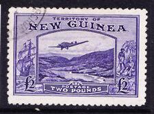 More details for australia new guinea 1935 sg204 £2 bright violet fine used. cat £140