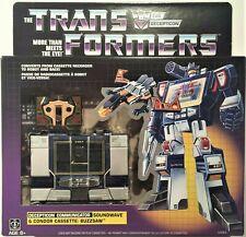 NEW  Hasbro Transformers Vintage G1 Reissue  Soundwave & Condor Cassette Buzzsaw