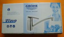 "Grohe Niederdruck Armatur ""Wave"" chrome"