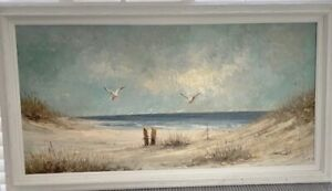 Seascape Original oil signed Morgan