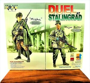 Dragon Duel at Stalingrad Misha & Kater 1/6 Figures 70074 Soviet German Soldiers