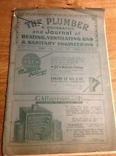 The Plumber & Decorator journal Dec 1924 Vintage magazine newspaper