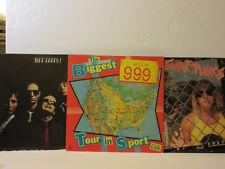 Surf Punks My Beach 999 Biggest Tour in Sport & Tuff Darts LP Album LOT New Wave