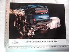 Foto Fotografie photo photograph JAGUAR AJ-V8 4.0 supercharged engine SR620