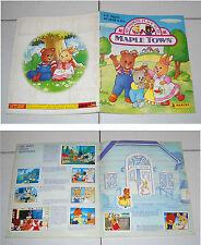 Album MAPLE TOWN UN NIDO DI SIMPATIA Panini 1988 COMPLETO figurine STICKERS