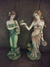 New ListingHome interiors figurines Homco Four Seasons Summer and Spring Rare Collectible