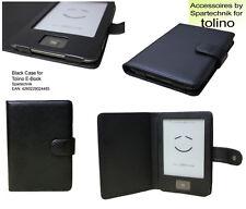 Custodia pelle* per Tolino Lettore ebook Tolino Shine Custodie colore nero