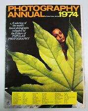 PHOTOGRAPHY ANNUAL 1974 International edition New York Ziff Davis