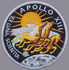 Apollo 13 XIII EX LUNA SCIENTIA Crew Patch Hook Fastener PATCH