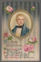 [31278] 1910 JOHN WINSCH POSTCARD BIRTHDAY WISHES AUTHOR SERIES SIR WALTER SCOTT