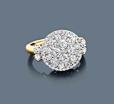 Ring Diamanten Gelbgold 585 Brillantring 2,09 ct. Manufaktur Wesselton SI Neu
