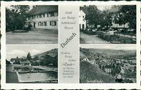 Ansichtskarte Durbach Gasthaus Linde Schwimmbad  (Nr.977)