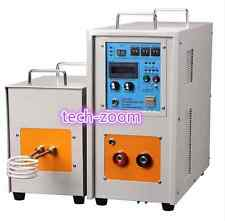 15KW 30-80KHz Dual Station High Frequency Induction Heater Furnace LH-15AB