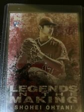 shohei ohtani rookie sport card Numbered 10 Out Of 10