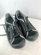 KEEN Black Red Sneaker Anti Slip Shoe Oxford Style 8.5