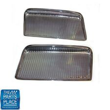 1964 GTO Chrome Hood Scoops - Pair