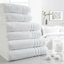 New White Hotel Collection BARTON Towel 100% Cotton 550 GSM Hand Bath Sheet