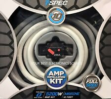 NEW T-Spec V10-S1001 Power Sports and Marine 1/0 AWG Amp Wiring Kit