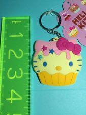 Sanrio Original NEW Hello Kitty KEY Chain KEYCHAIN 2011 Cupcake Soft Rubber
