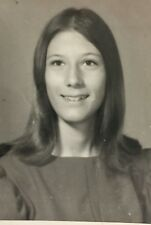 Vintage Photograph Pretty Girl School Girl Picture  1970s 5z