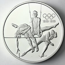 CANADA 15 dolares plata 1992 proof  HIGH JUMP, RINGS, SPEED SKATING1 oz.