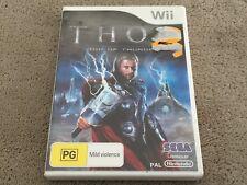 Thor God of Thunder (Free Postage) Nintendo Wii Game Superhero