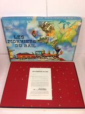 Jeux De Société - Les Pionniers Du Rail - Editions Miro- Complet Excellent