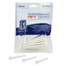 PGA Tour Performance RFT REDUCED Friction Golf Tees 30 Pack 70mm