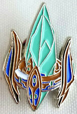 Blizzard Entertainment STAR CRAFT PROTOSS PYLON Video Game Soft Enamel Pin