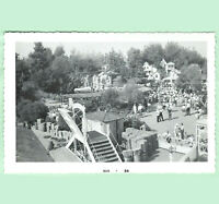 Vintage Disneyland Real Photo Frontierland Viewed from the Mark Twain Aug 1959