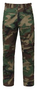 Rothco Woodland Camo Rip-Stop  BDU Pants