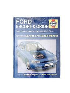 Haynes Ford Escort & Orion Service Repair Manual Sept 1990 - 2000 Diesel Sealed