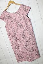 IMITZ Spitzenkleid  Kleid Spitze  Gr 38  Pastel Pink  Grau  Neu