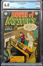 HOUSE OF MYSTERY #2 1952 CGC 6.0 OFF WHITE PAGES NOT MANY TO MARKET RECENTLY!