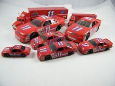 BILL ELLIOTT ~ AMOCO FORD RACING #11 ~ TRANSPORTERS AND CARS