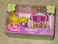 NIB Mattel Polly Pocket Polly World Carousel