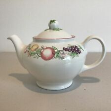Vintage. Orchard Ceramic Teapot by Boots Co PLC. Nottingham Made in England #164