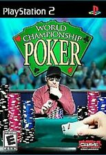 World Championship Poker  PlayStation 2 PS2 video game